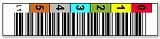 LTO1用 バーコードラベル 1700-0V