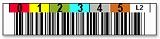 LTO2用 バーコードラベル 1700-002