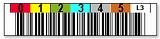 LTO3用 バーコードラベル 1700-003