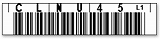 LTO UCC用 バーコードラベル 1700-CNHU